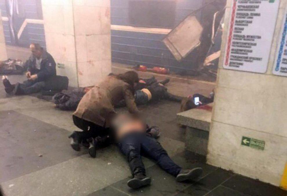 Russia – Esplode ordigno nella metro di San Pietroburgo: 9 morti e almeno 39 feriti