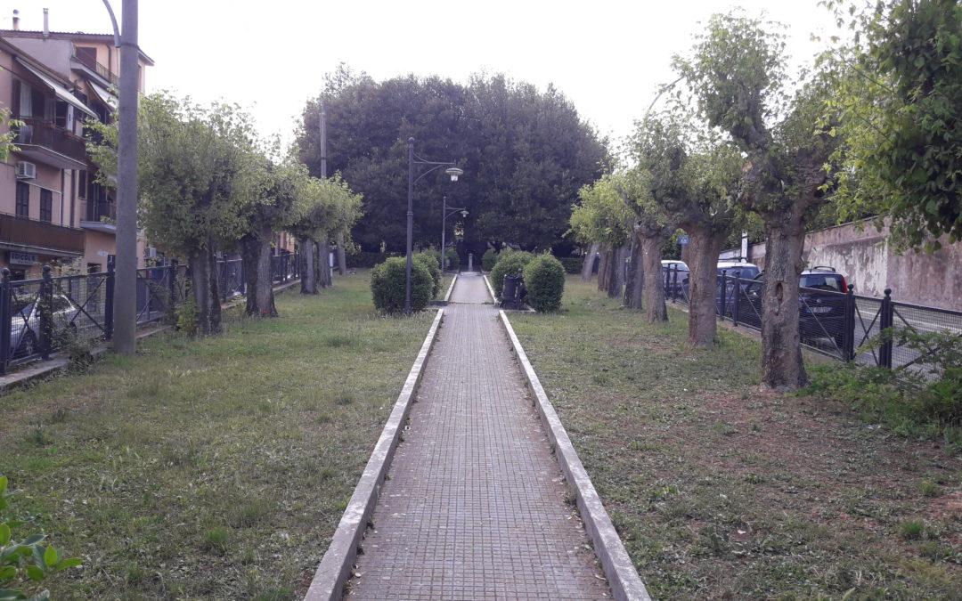 Parco delle Rimembranze: al via la riqualificazione