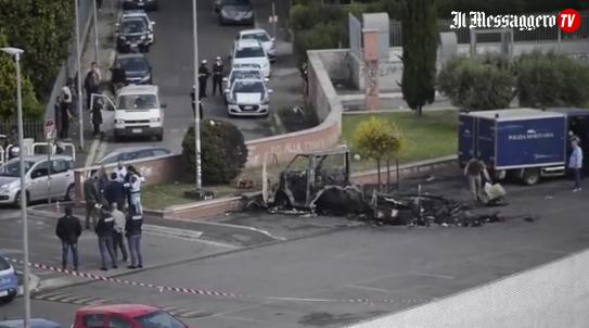 TRAGEDIA A ROMA – Camper a fuoco: morte tre sorelle rom