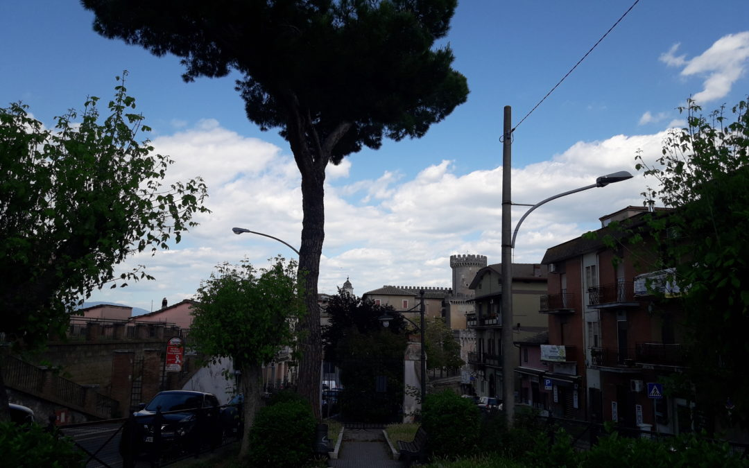 FIANO ROMANO – Lavori sospesi al Parco delle Rimembranze. La nota dell'Amministrazione