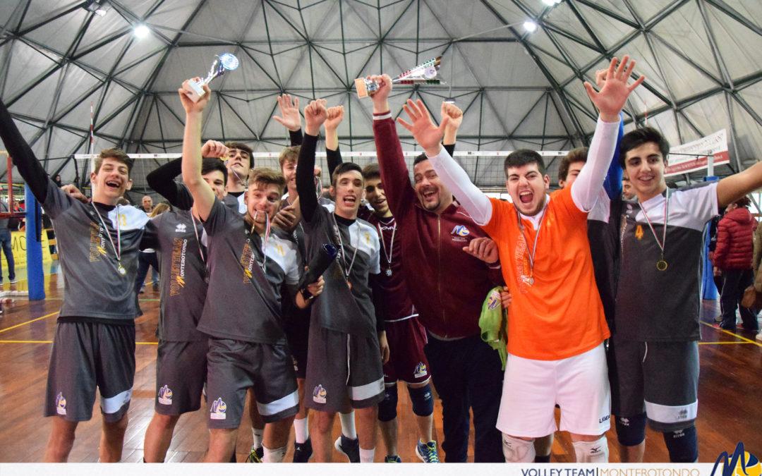 Giovanili – Volley Team Monterotondo 7° nel Lazio: storia di una grande scalata