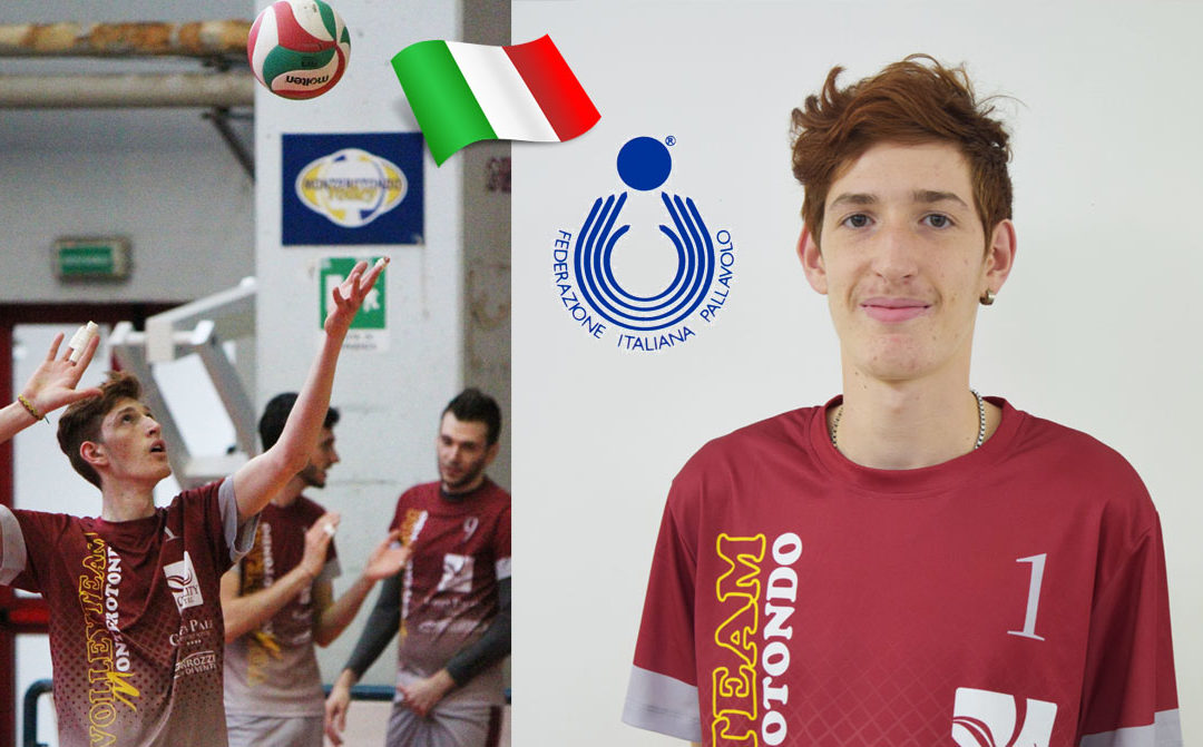 Volley Team Monterotondo: Orlando convocato in Nazionale Allievi