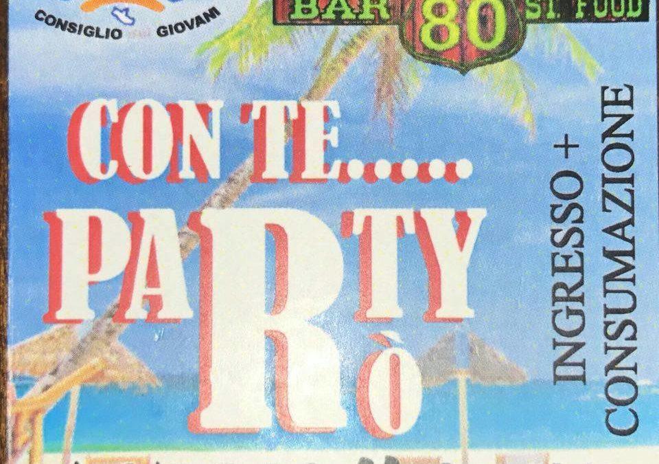 CAPENA – Problema sicurezza: annullato evento Party Rò. Comunicato ufficiale