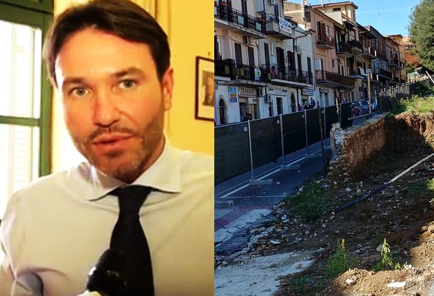 FIANO ROMANO – Ferilli ironico su Fb annuncia la ripresa dei lavori