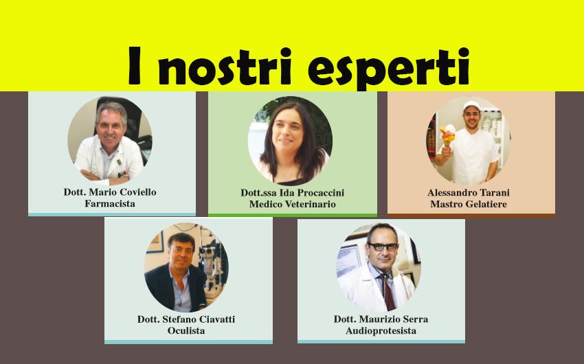 LEGGI LE RUBRICHE DEI NOSTRI ESPERTI! (ed. 12 ottobre 2017)