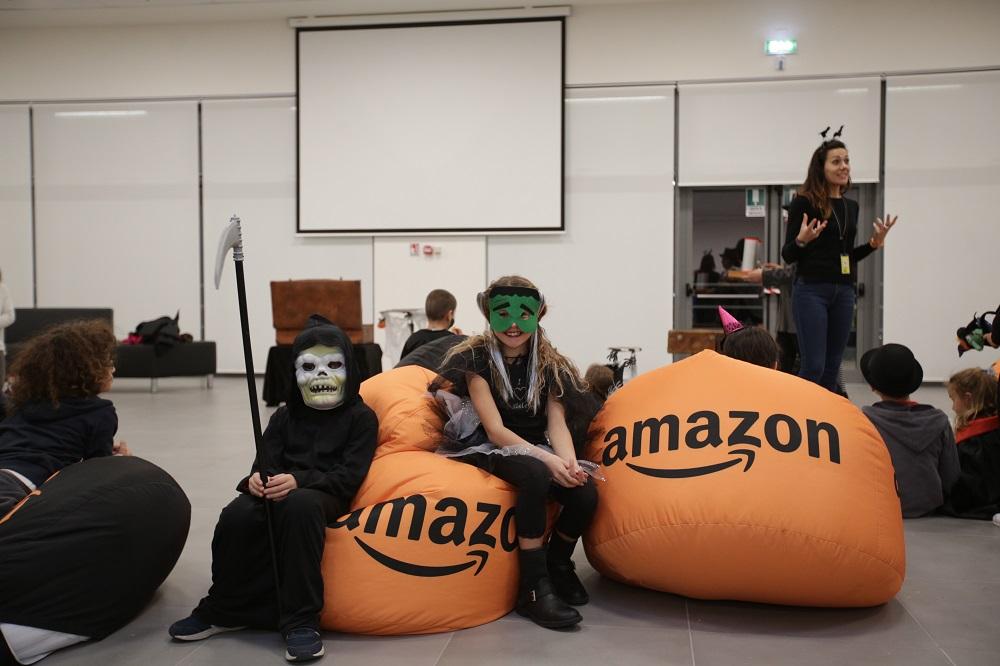 AMAZON – I BAMBINI di Passo Corese festeggiano Halloween