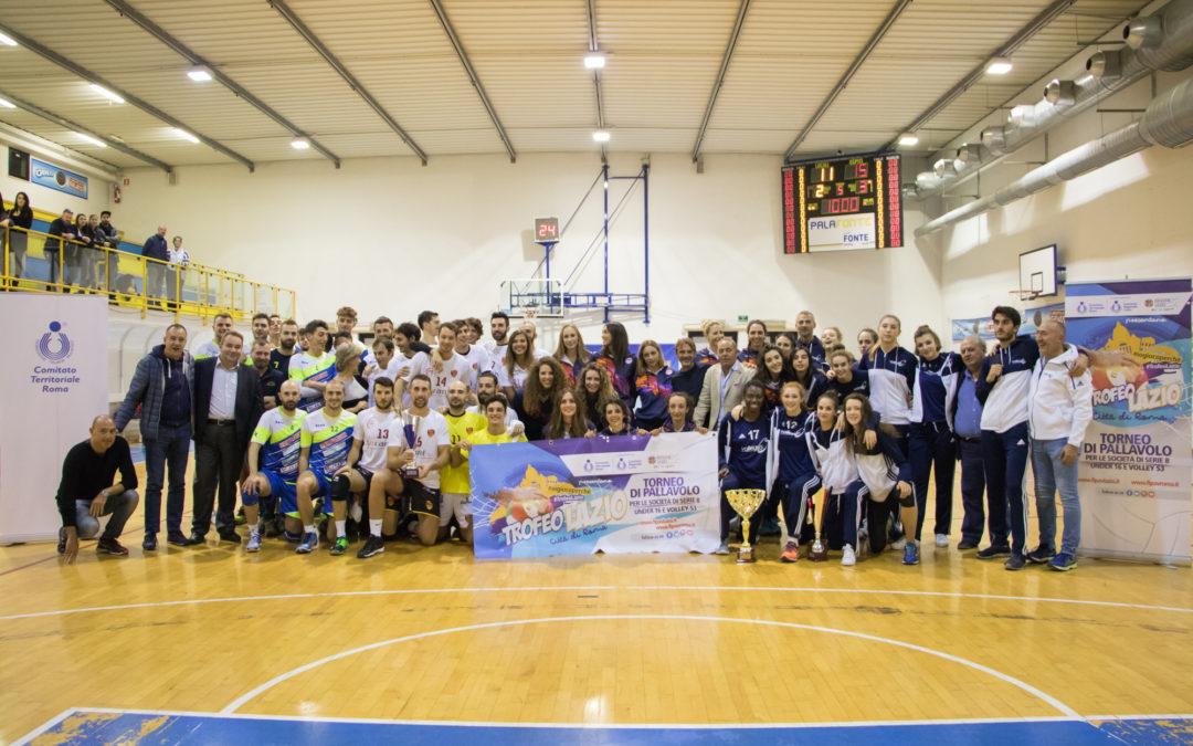Finali Trofeo Lazio – Città di Roma. Trionfo Volleyrò, vittorie per Sempione e Roma Volley