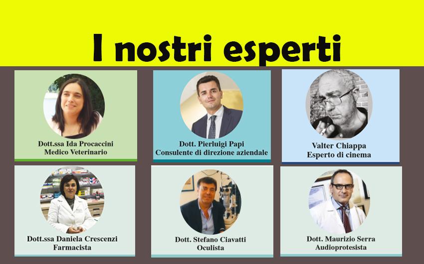 LEGGI LE RUBRICHE DEI NOSTRI ESPERTI! (ed. 9 novembre 2017)