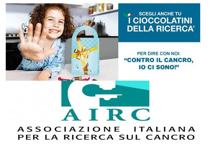 Castelnuovo di Farfa: AIRC, i cioccolatini della ricerca