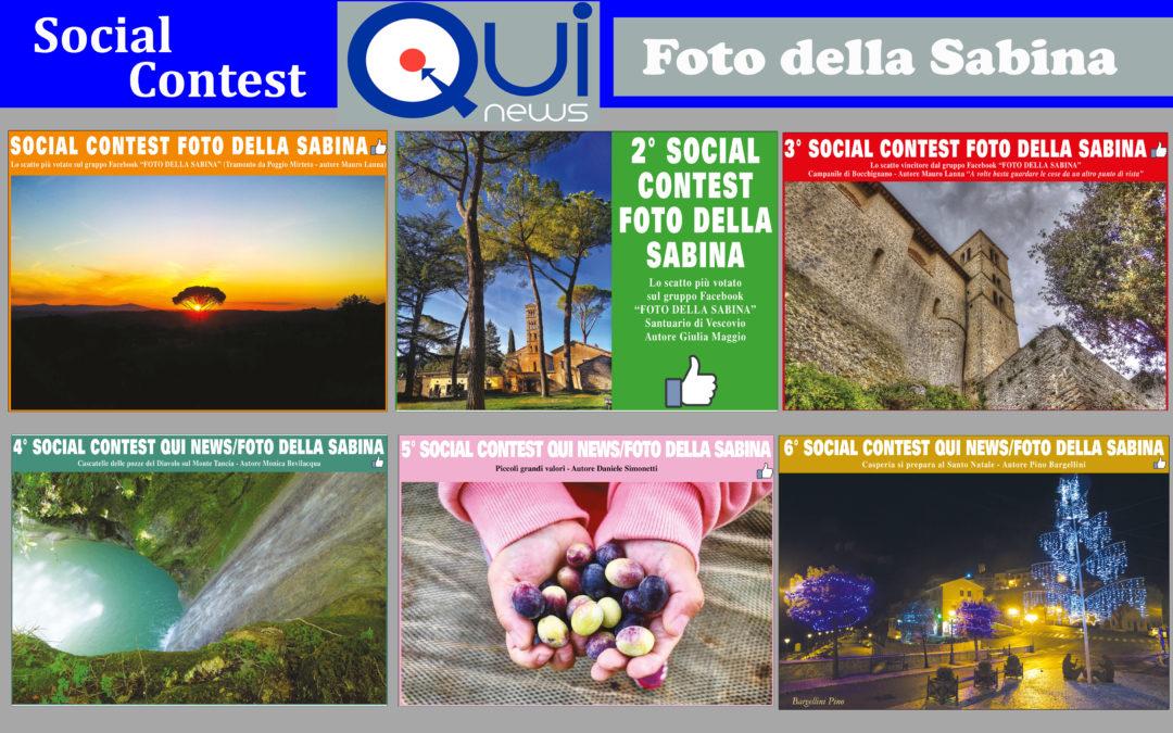 SOCIAL CONTEST Qui News/Foto della Sabina