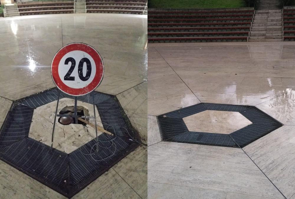 PASSO CORESE – Il (fu) buco con la piazza intorno