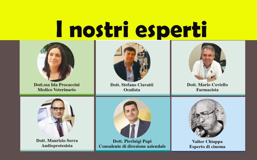 LEGGI LE RUBRICHE DEI NOSTRI ESPERTI! (ed. 6 dicembre 2017)