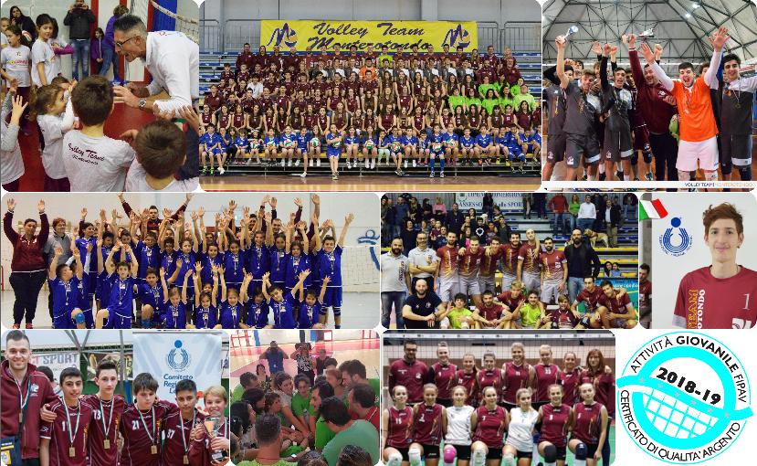 Il 2017 della Volley Team Monterotondo tra giovani, sociale e grandi risultati