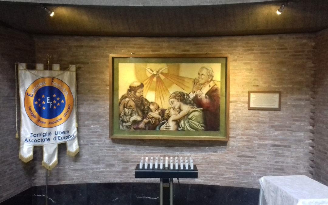 POGGIO MIRTETO – Il quadro benedetto da Papa Francesco (evento)