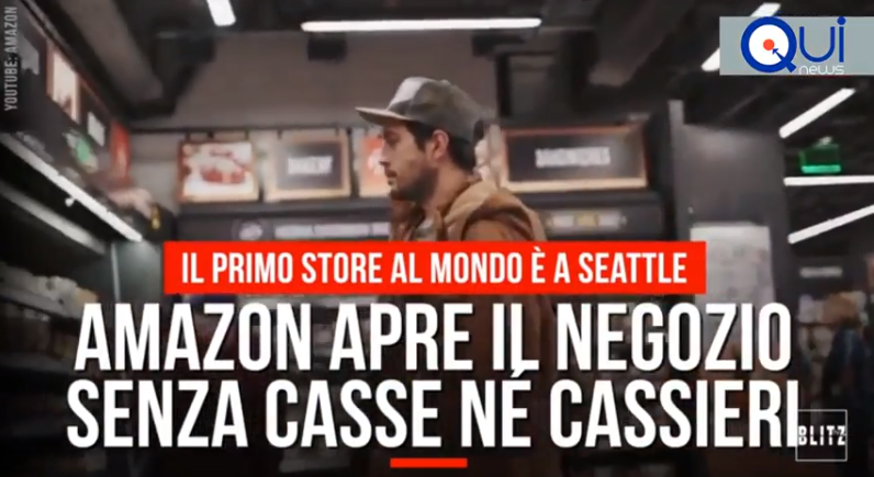 VIDEO AMAZON – Apre il supermercato senza casse (e cassieri)
