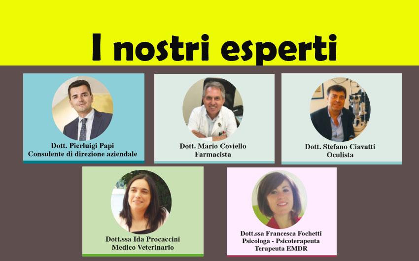 LEGGI LE RUBRICHE DEI NOSTRI ESPERTI! (ed. 11 gennaio 2018)
