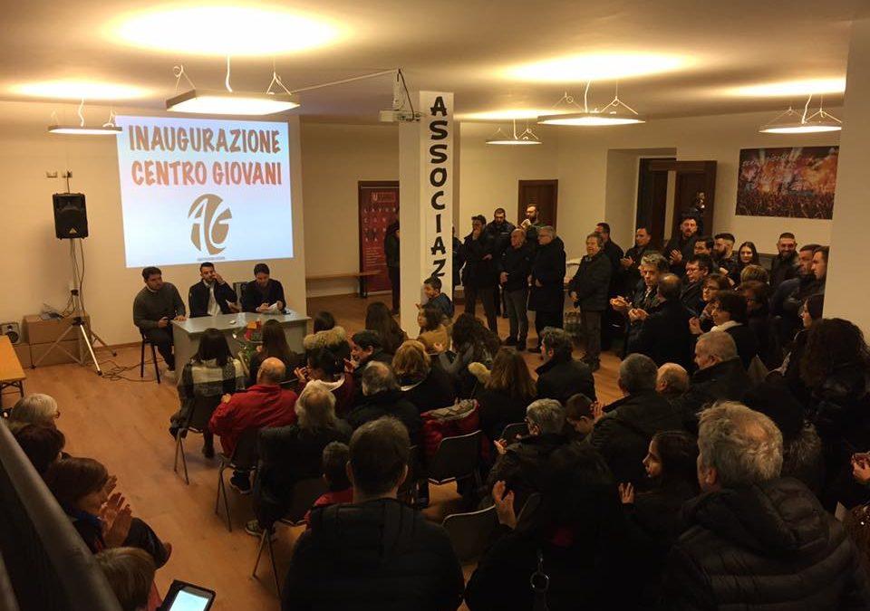 FIANO ROMANO – Inaugurato il nuovo CENTRO GIOVANI