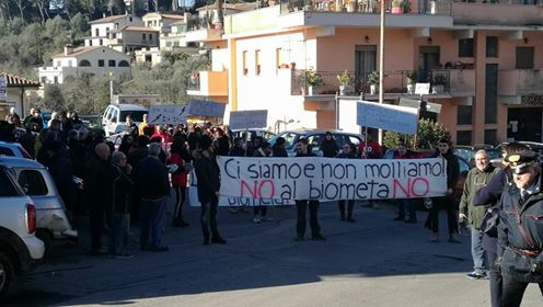 """PONZANO – I cittadini dicono """"NO"""" all'impianto biometano"""