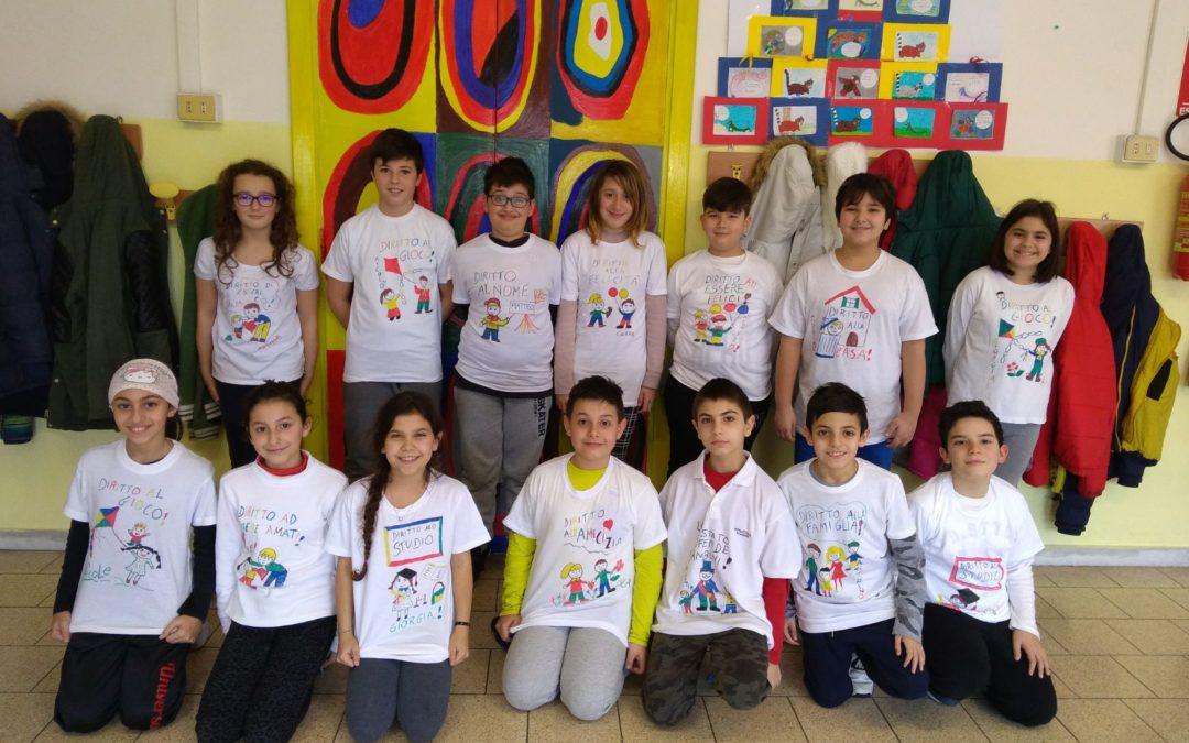 QUINTA b – I.C. Capena: Lettera per i diritti dei bambini