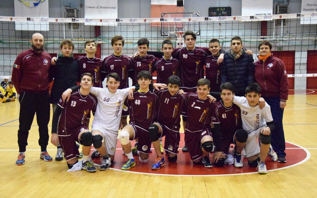 Volley Team Monterotondo, U16M da sogno: è finale territoriale!