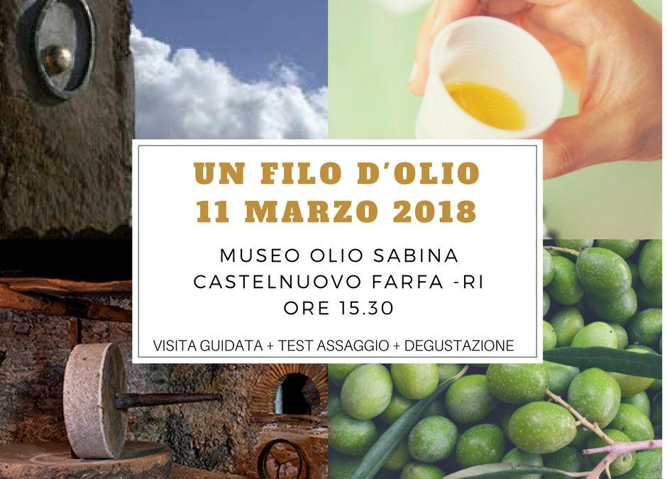 """Cast. di Farfa – Torna """"UN FILO D'OLIO"""". Le info"""