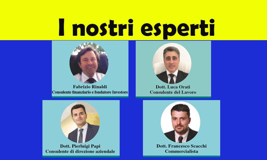 LEGGI LE RUBRICHE DEI NOSTRI ESPERTI! (ed. 22 febbraio 2018)