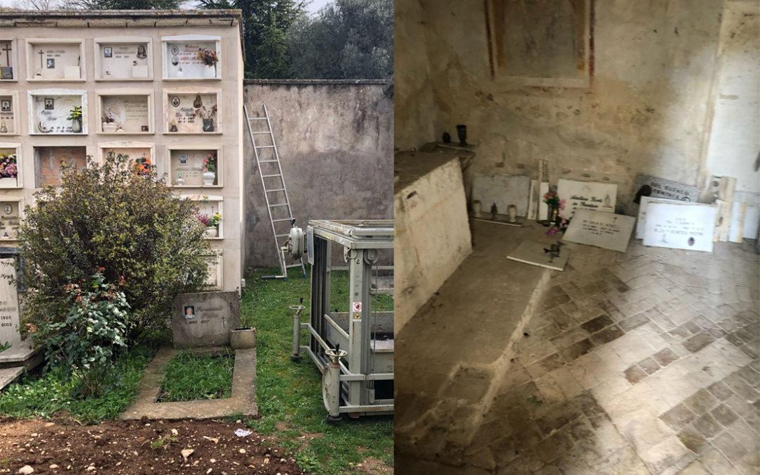 CASTEL SAN PIETRO – Cimitero nel degrado… che si fa?