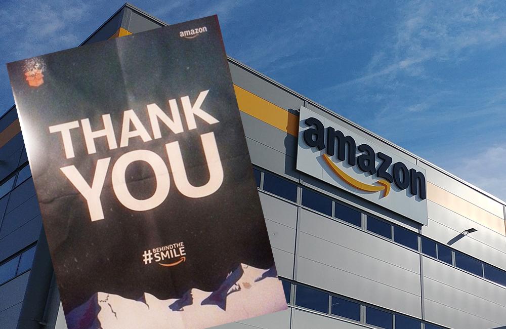AMAZON – Prima ti licenzio, poi ti ringrazio