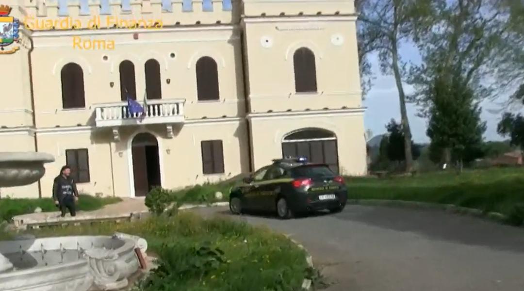 FIANO ROMANO – Sequestrato Castello Bracci (VIDEO del blitz della Finanza)