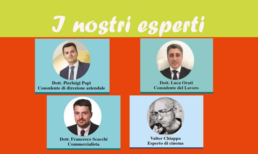 LEGGI TUTTE LE RUBRICHE DEI NOSTRI ESPERTI! (ed. 15 marzo 2018)