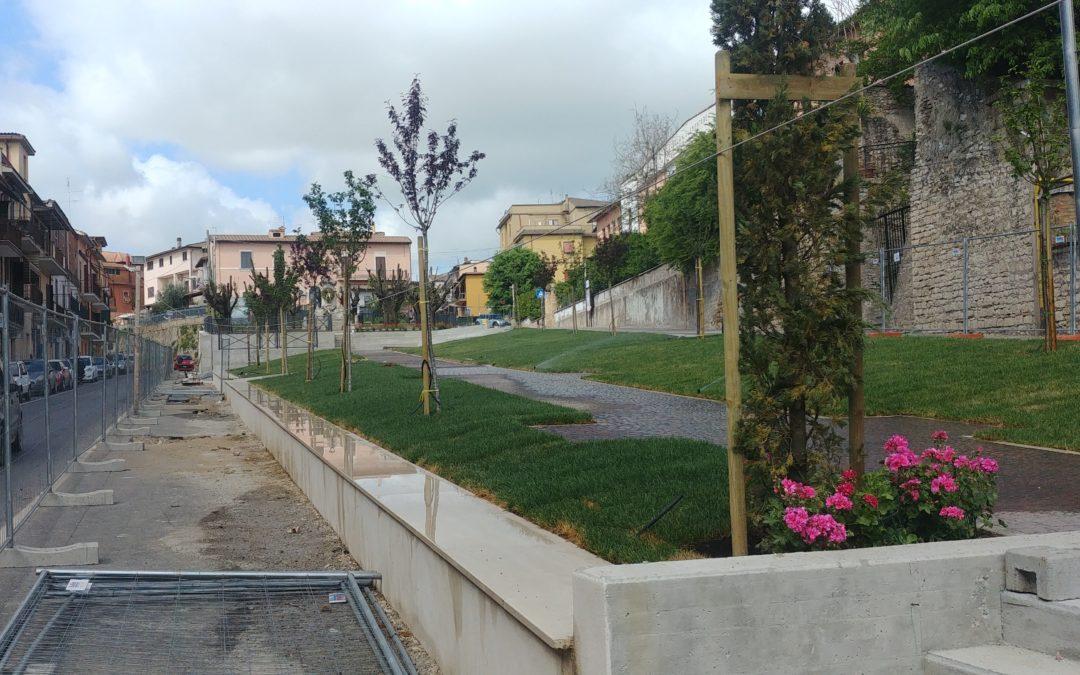 """FIANO ROMANO – P. Rimembranze: """"Via Giustiniani aperta…"""""""