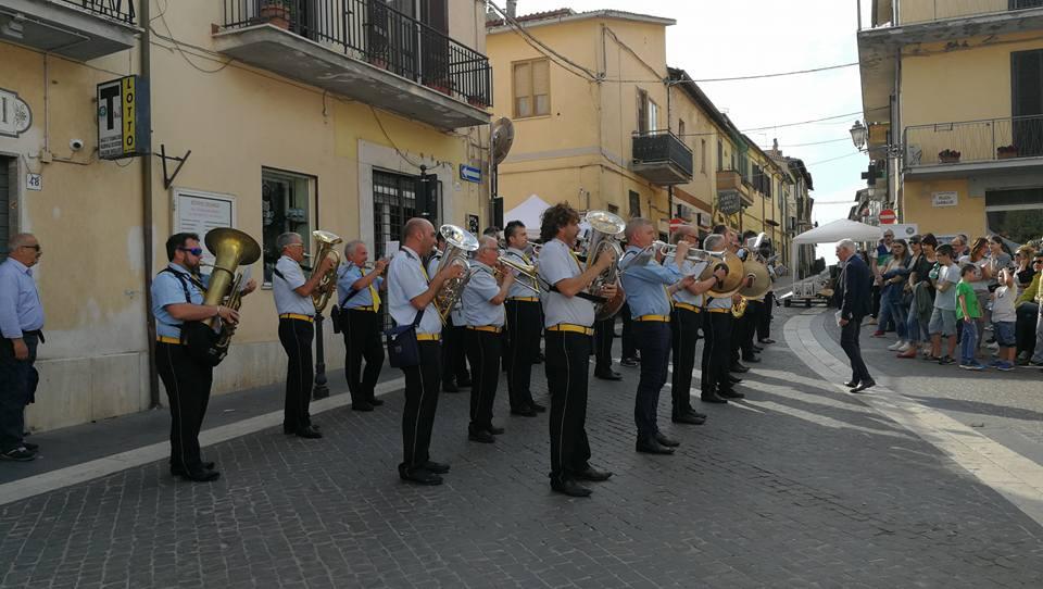 FIANO ROMANO – Banda musicale, spettacolo 8 giugno (100 anni dalla fine della P. G. Mondiale)