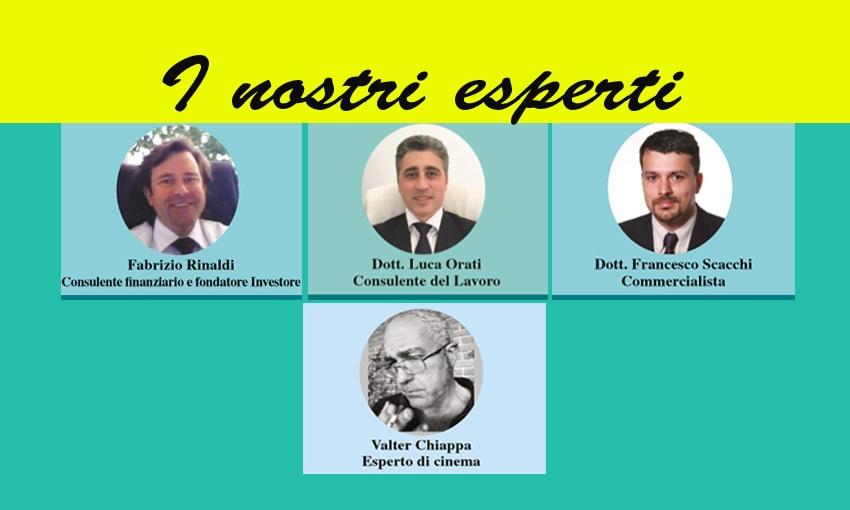 LEGGI TUTTE LE RUBRICHE DEI NOSTRI ESPERTI! (ed. 10 maggio 2018)