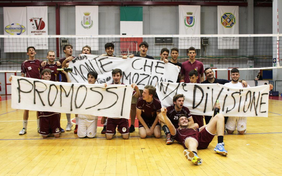 VTM in Prima Divisione: che festa con 500 tifosi al palazzetto