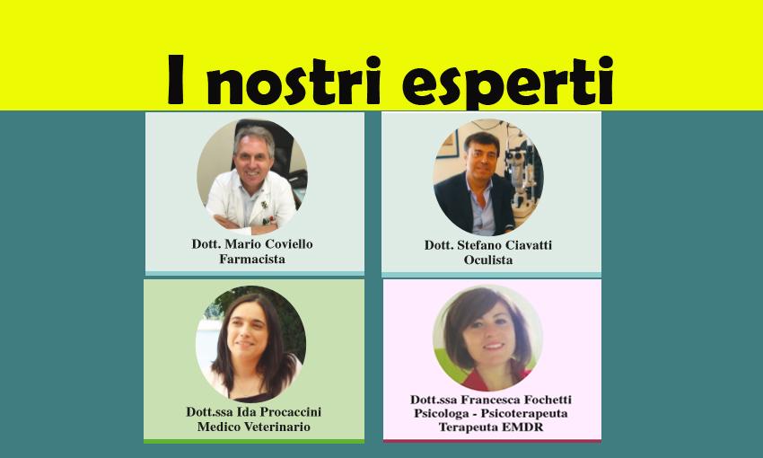 LEGGI  LE RUBRICHE DEI NOSTRI ESPERTI! (ed. 7 giugno 2018)