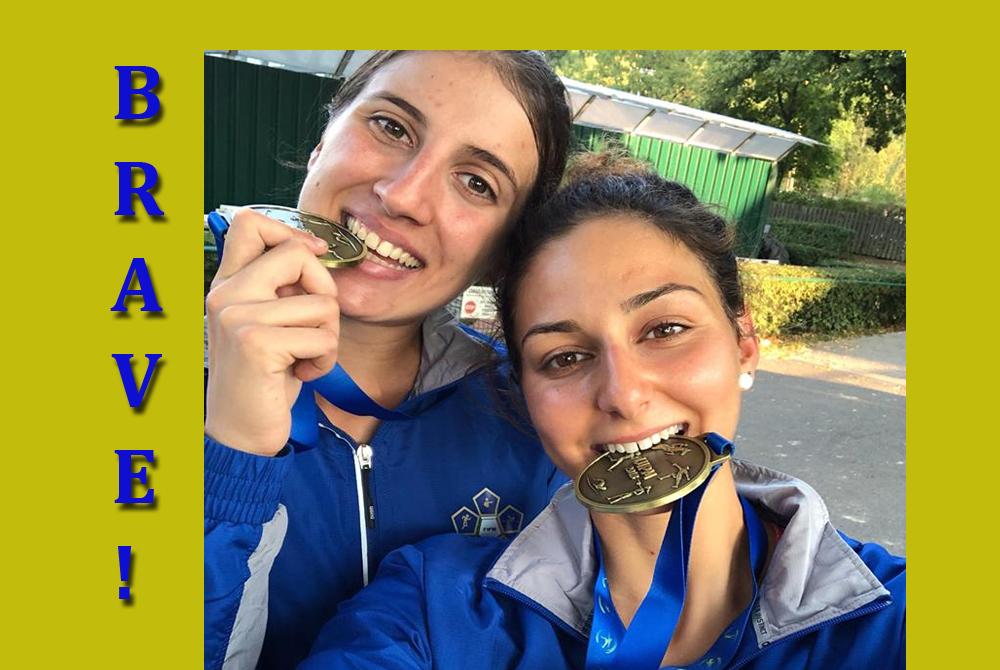 FARA SABINA – Tognetti e Micheli bronzo al mondiale!