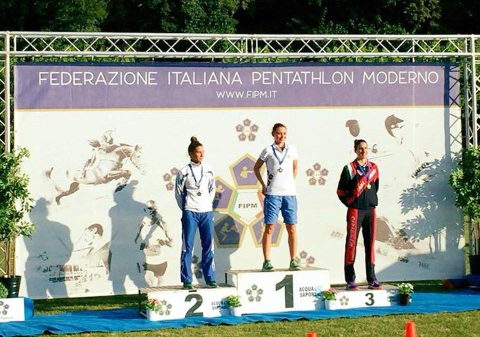 FARA SABINA – Irene Prampolini Campionessa Italiana