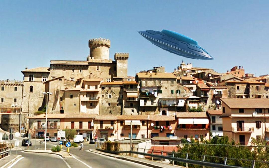 Avvistamento UFO nei cieli di FIANO ROMANO (VIDEO)