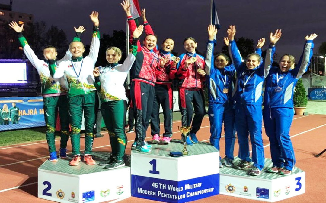 FARA SABINA – Brave ragazze! Bronzo tricolore