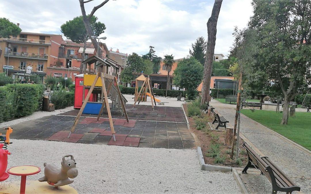 """CAPENA – Barbetti: """"Lavori finiti. Parco giochi di nuovo aperto"""""""
