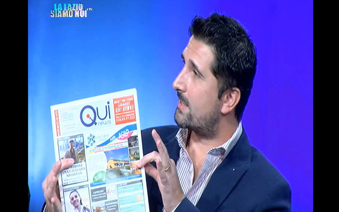 QUI NEWS IN TV – Presentazione numero di ottobre (VIDEO)