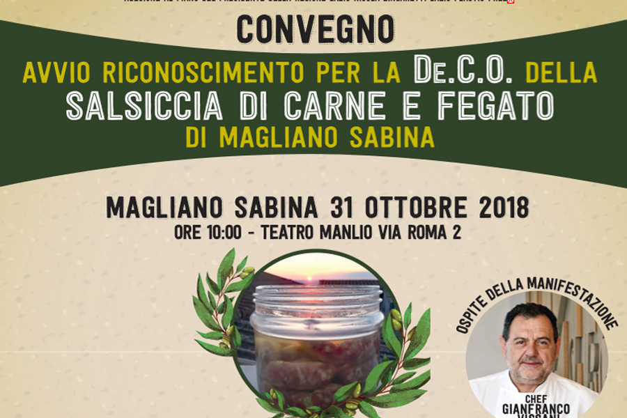 EVENTO – MAGLIANO SABINA GREEN AND FOOD