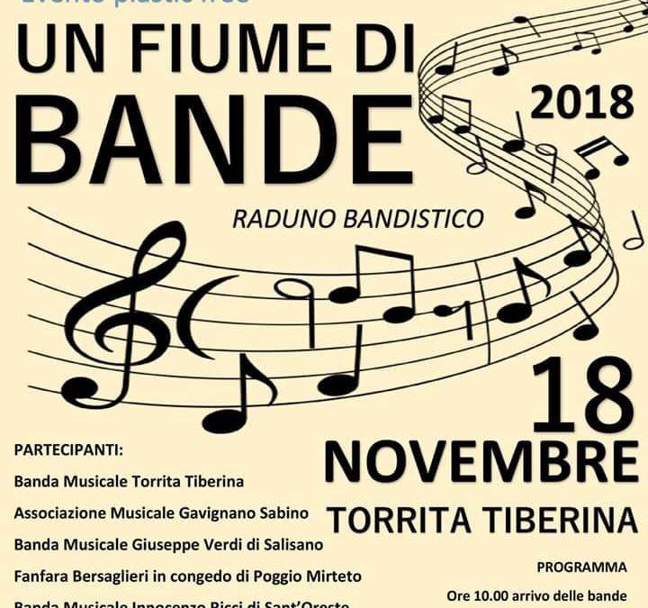 """TORRITA TIBERINA – Evento """"Un fiume di Bande"""". Le info"""