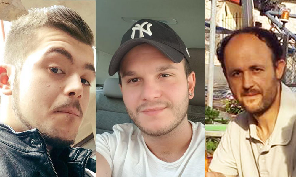 L'ultimo saluto a Mirko, Francesco e Luca. Le 3 vittime della Salaria