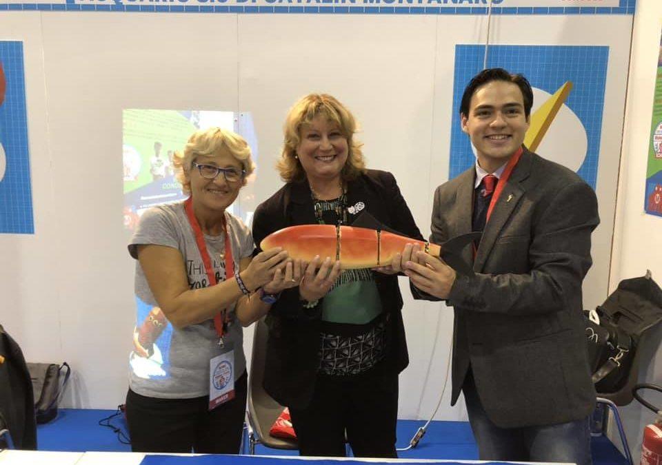 MONTEROTONDO – ACQUARIO: 3.0 Catalin racconta Loryfish, il pesce robot