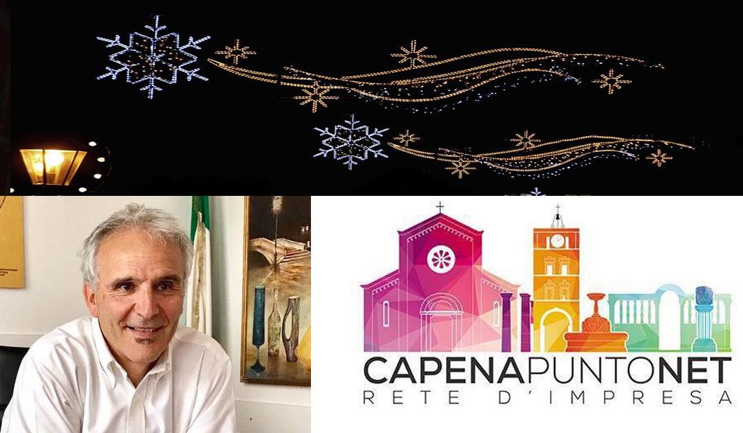 """Capenapuntonet illumina il Paese. Arriva il """"grazie"""" di Barbetti"""