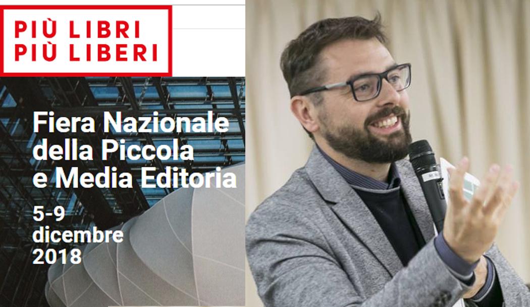 """17esima edizione """"Più Libri Più Liberi"""", ci sarà anche Fabrizio Moscato"""