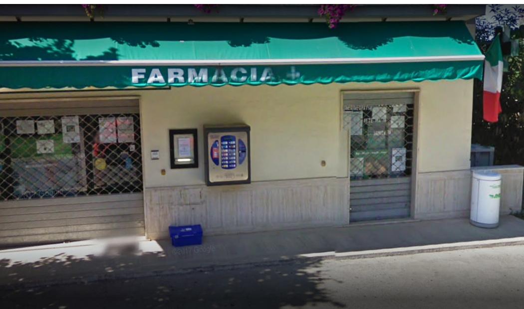 F. Sabina –  Farmacia Comunale Borgo Quinzio privata per 20 anni