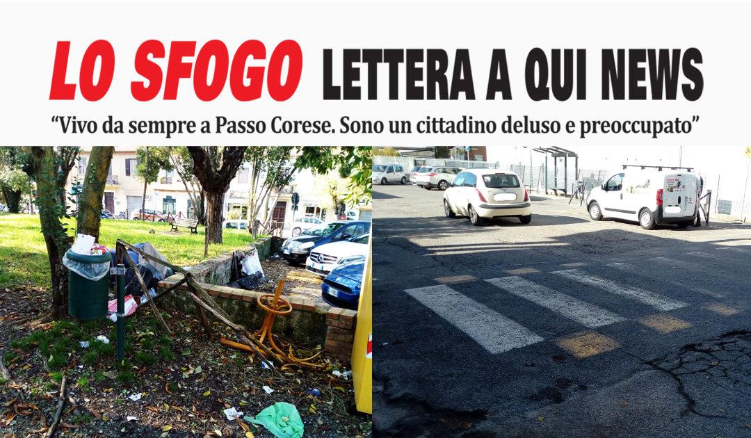 """PASSO CORESE – """"Deluso e preoccupato"""". A Qui News parla un cittadino (FOTO)"""