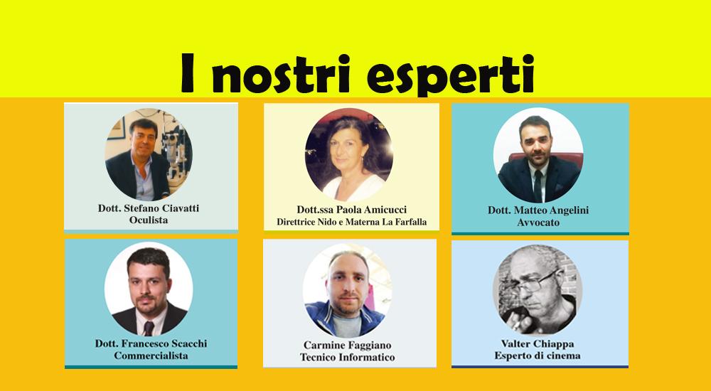 LEGGI TUTTE LE RUBRICHE DEI NOSTRI ESPERTI! (ed. 17 gennaio 2019)